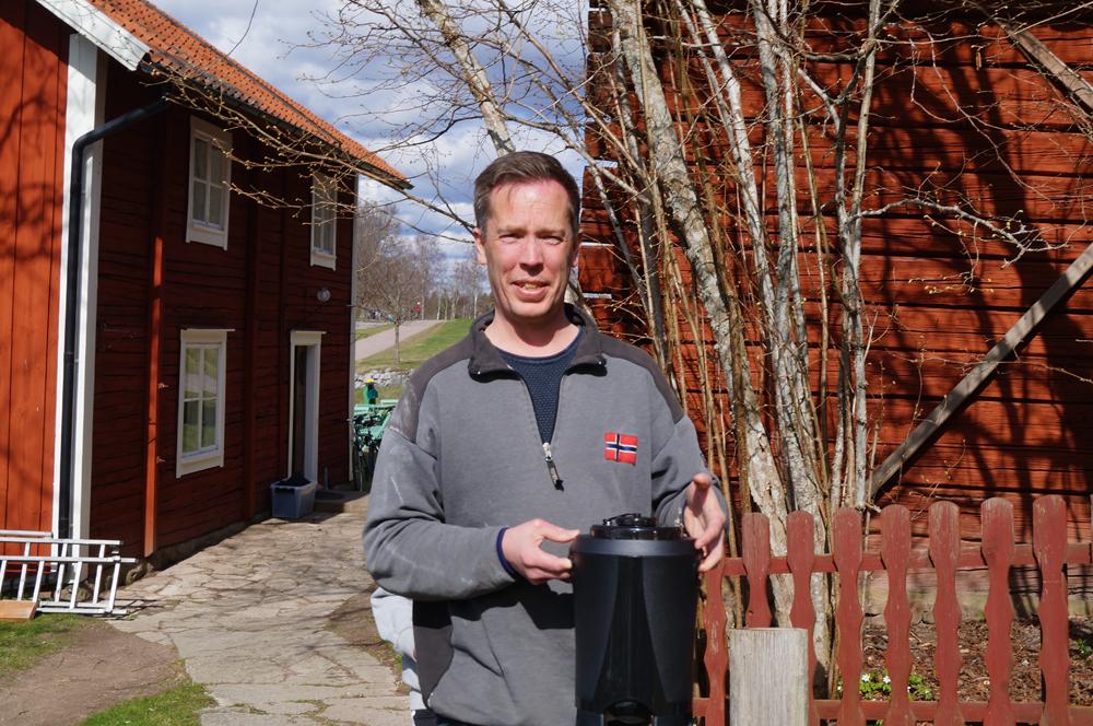Markus Kåtorp, arrendator på Farfarsstugan, Övralid